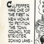 There Oughta Be a Law comic strip about zoning laws, panel 1