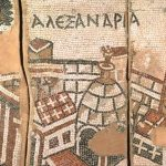 Mosaic of Alexandria, from St. John's Church in Gerasa, Jordon