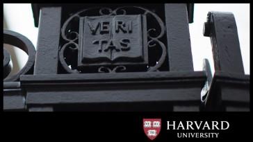 Photo of a gate at Harvard University