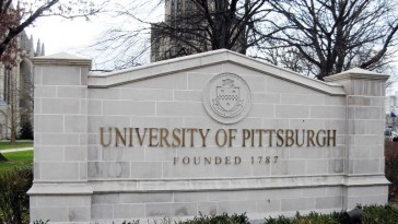 Photo from campus of the University of Pittsburgh