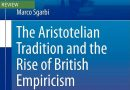 Sgarbi, <em>The Aristotelian Tradition and the Rise of British Empiricism</em>
