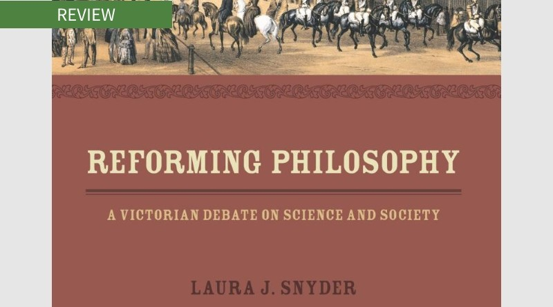 Book cover of Reforming Philosophy by Laura J. Snyder