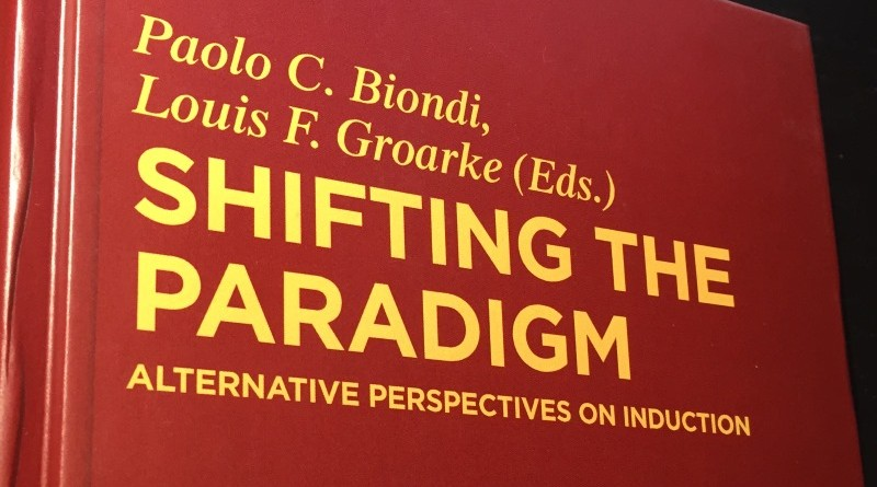 Photo of book cover, Shifting the Paradigm