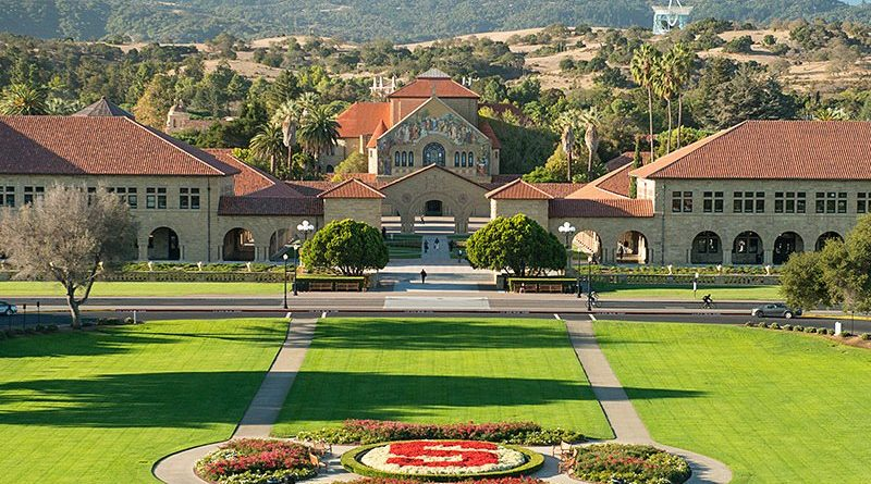 Photo of Stanford University campus