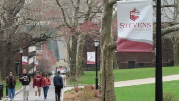 Photo of campus of Stevens Institute of Technology